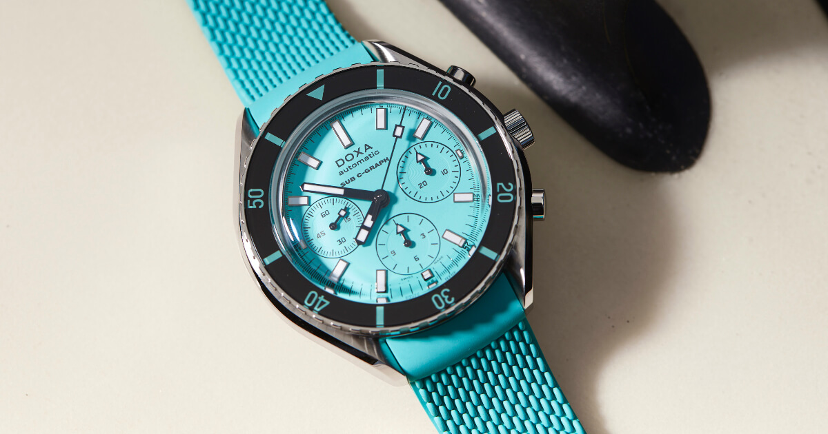 Introducing Doxa SUB 200 C-Graph (Price, Pictures and Specifications)