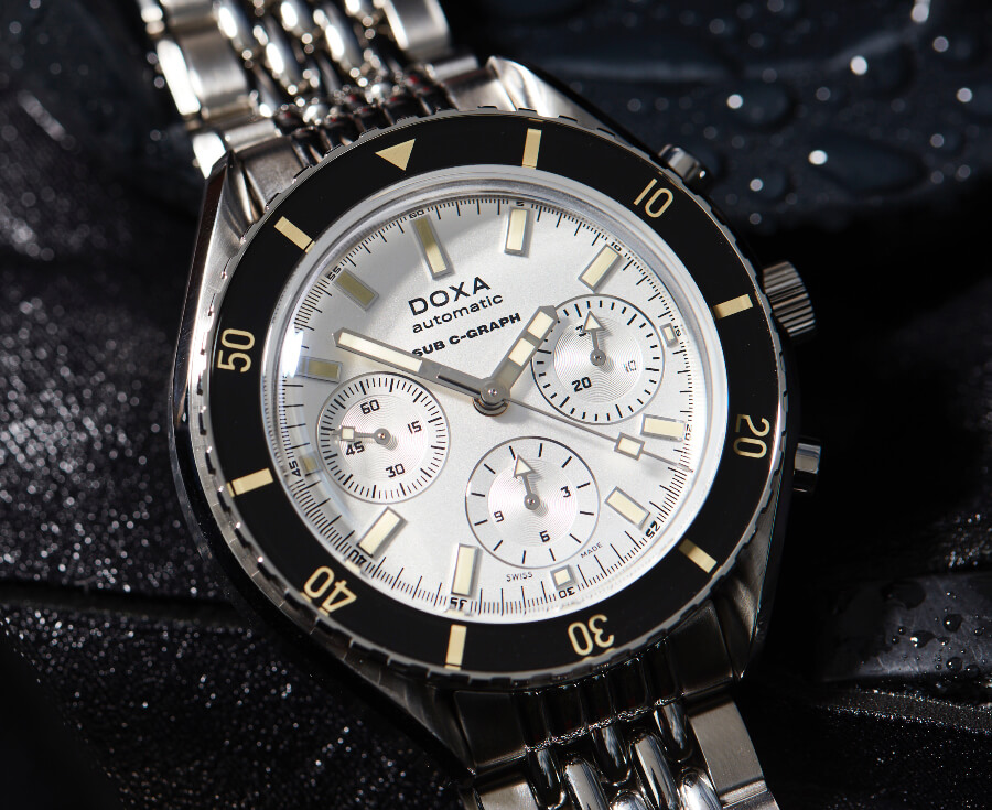 Doxa SUB 200 C-Graph Men Watches Chronograph