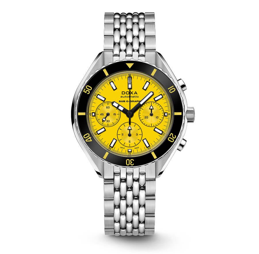 Doxa SUB 200 C-Graph Yellow Dial