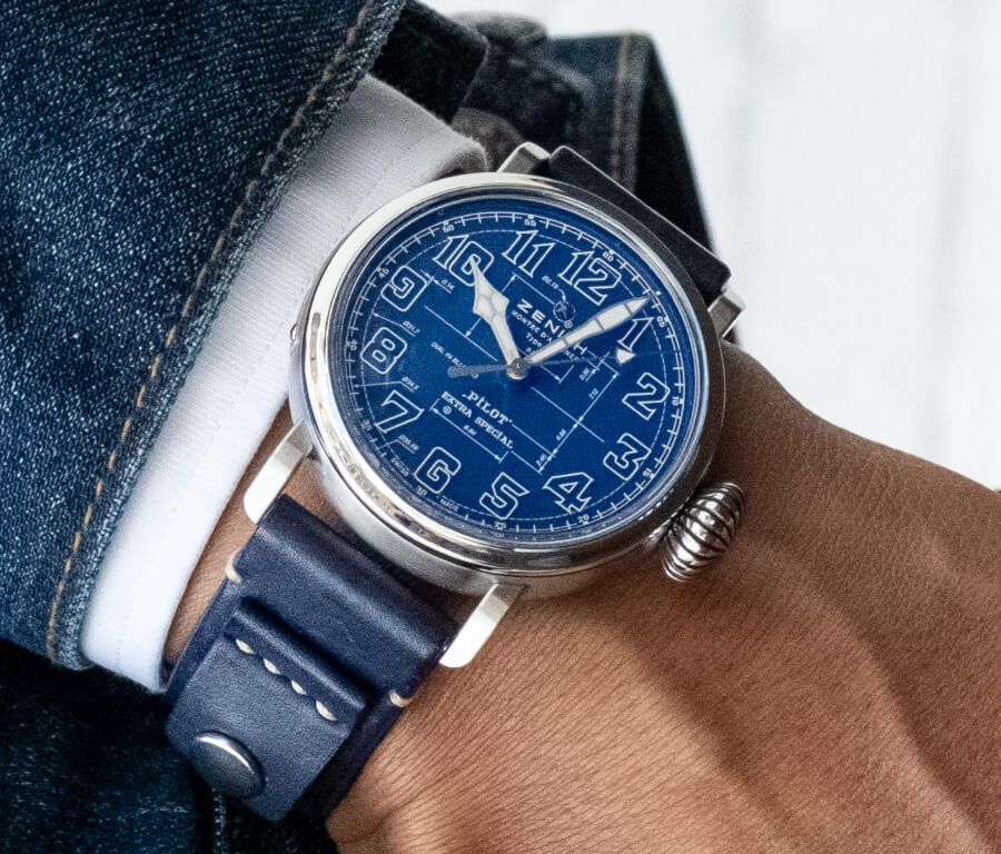 Zenith Pilot Type 20 Blueprint Watch Review