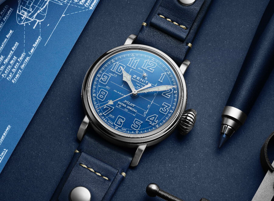Zenith Pilot Type 20 Blueprint Ref. 03.2435.679/51.I012 Review