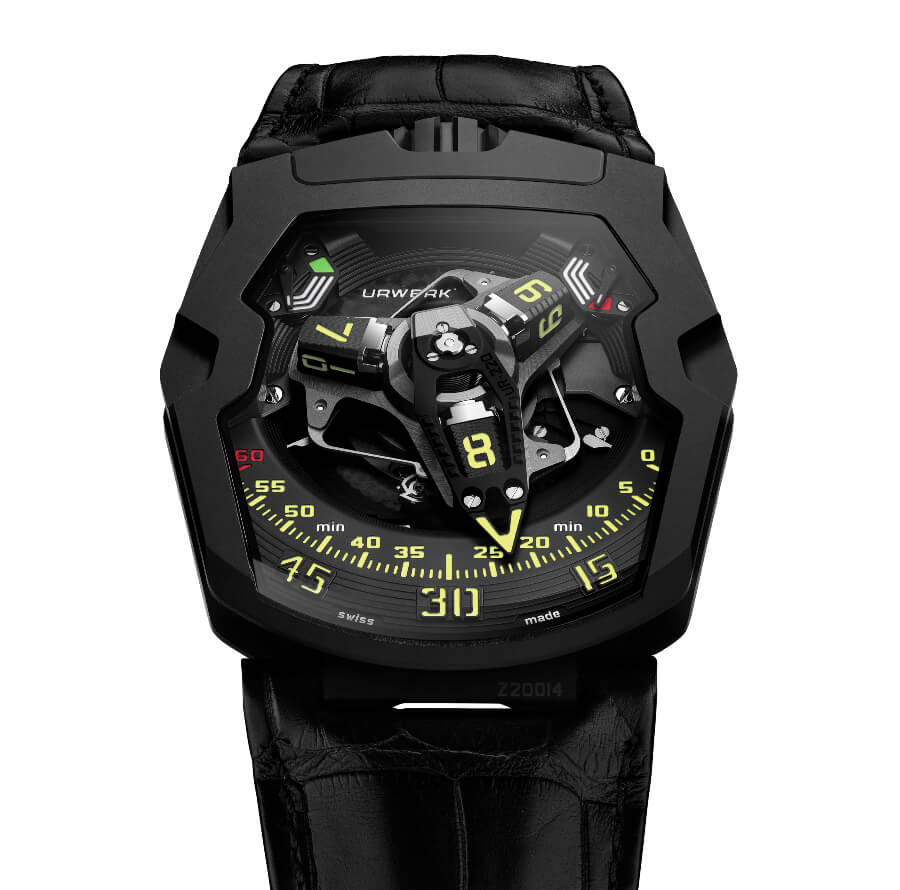 The New Urwerk UR-220 All Black