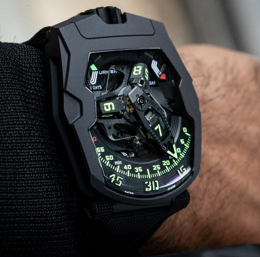 Urwerk UR-220 All Black Watch review