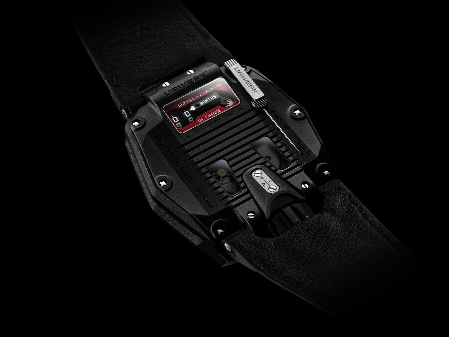 Urwerk UR-220 All Black Case Back
