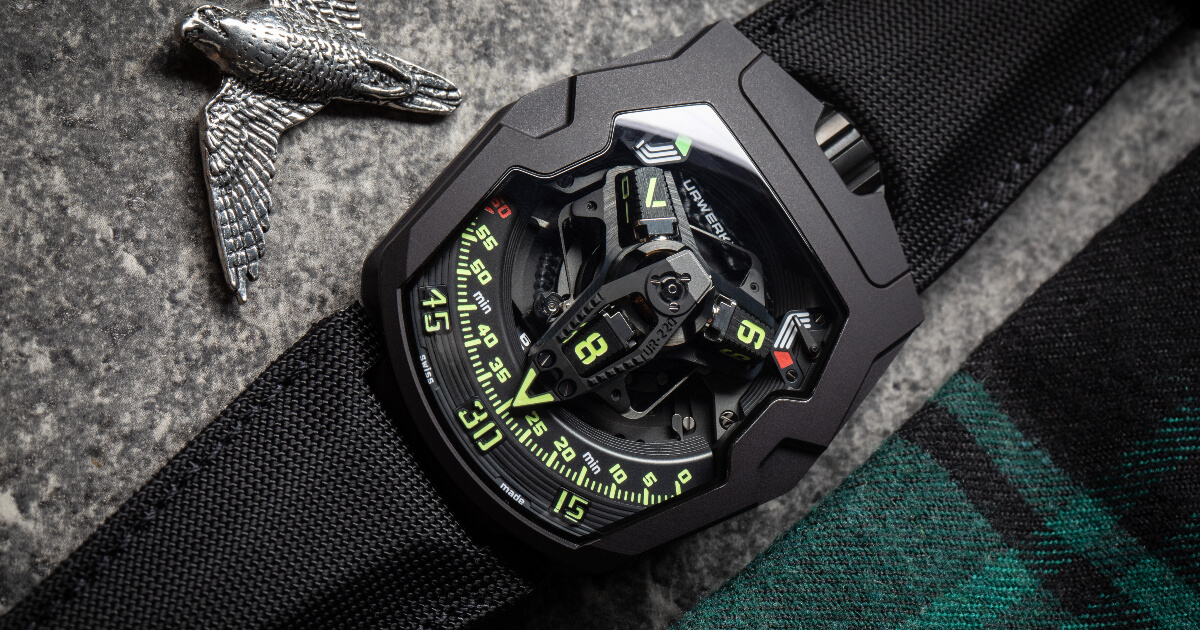 Urwerk UR-220 All Black (Price, Pictures and Specifications)