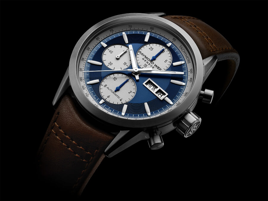 Raymond Weil Freelancer Chronograph Deep Blue Satin Dial Watch review
