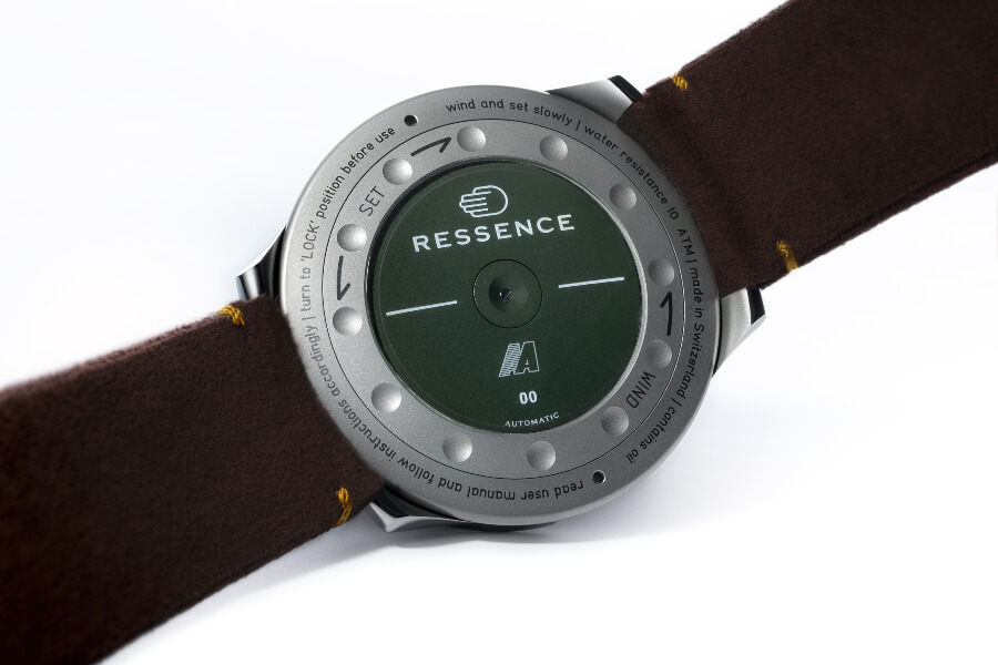Ressence Type 5X Case Back