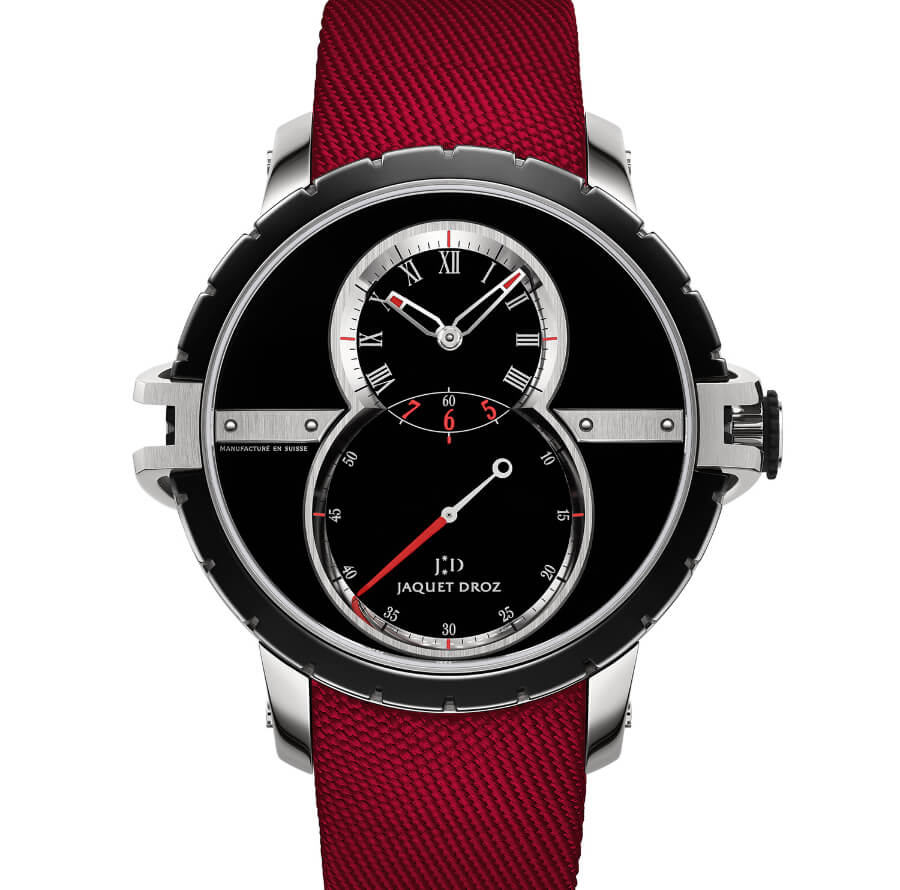 The New Jaquet Droz SW Steel-Ceramic