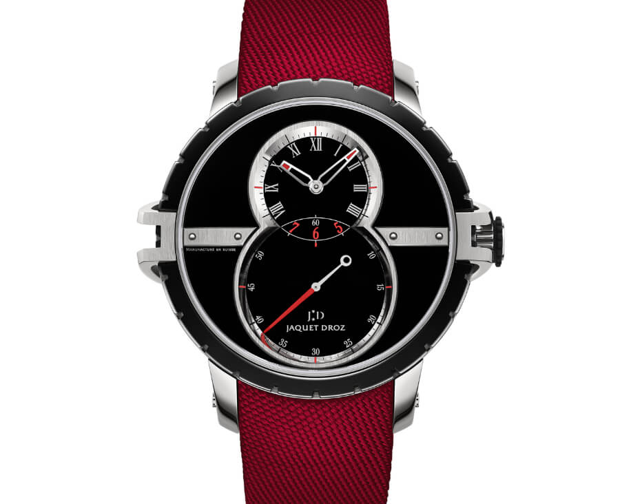 Men Watches Jaquet Droz SW Steel-Ceramic