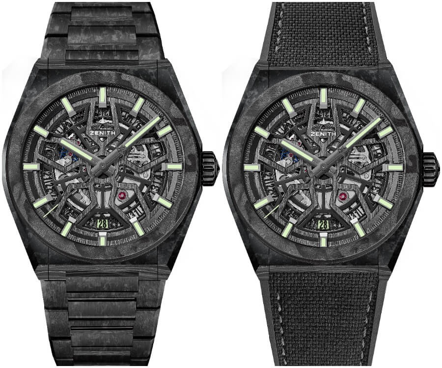 The New Zenith Defy Classic Carbon