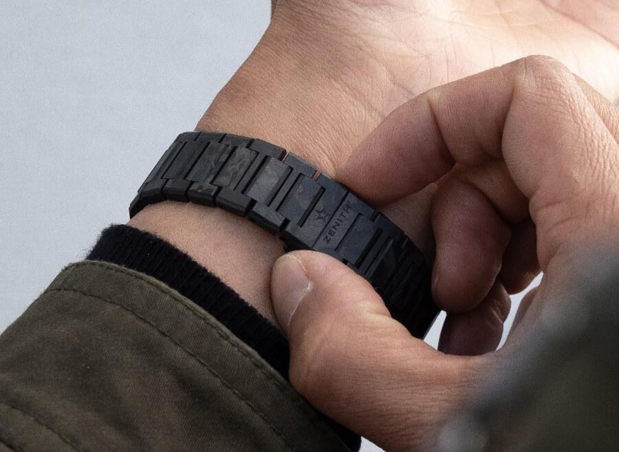 Zenith Defy Classic Carbon Bracelet