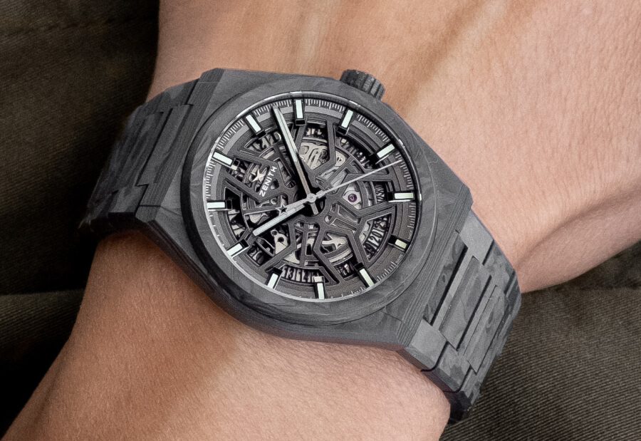 Zenith Defy Classic Carbon Watch Review