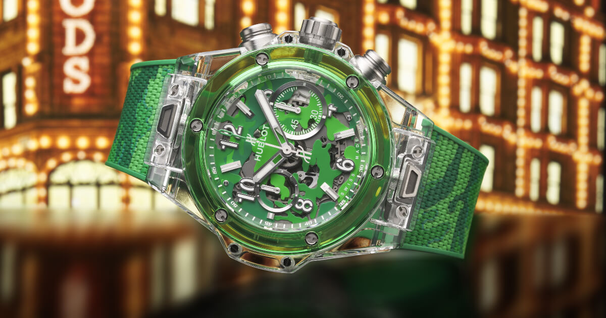 Hublot Big Bang Unico Sapphire Harrods Special Edition (Price, Pictures and Specifications)