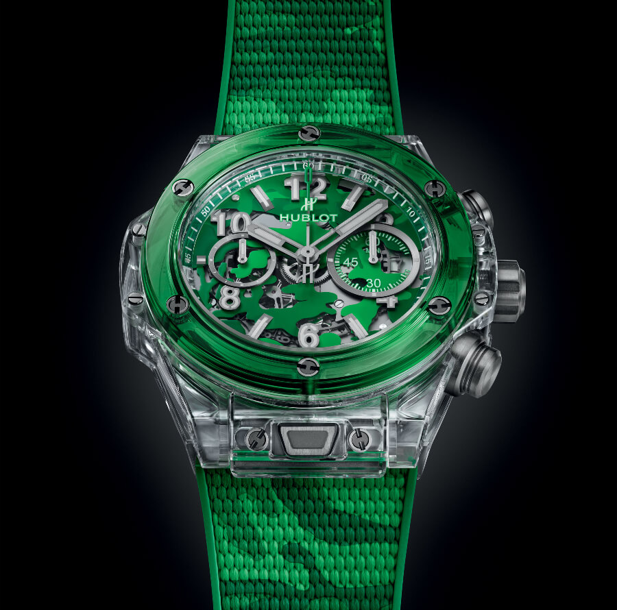 The New Hublot Big Bang Unico Sapphire Harrods Special Edition