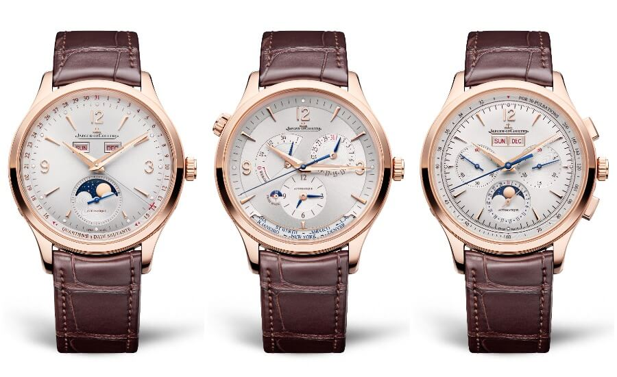 The New Jaeger-LeCoultre Master Control Collection In Le Grand Rose Gold