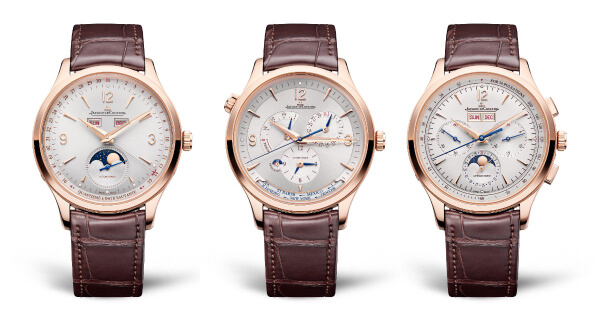 The New Jaeger-LeCoultre Master Control Collection In Le Grand Rose Gold (Price, Pictures and Specifications)