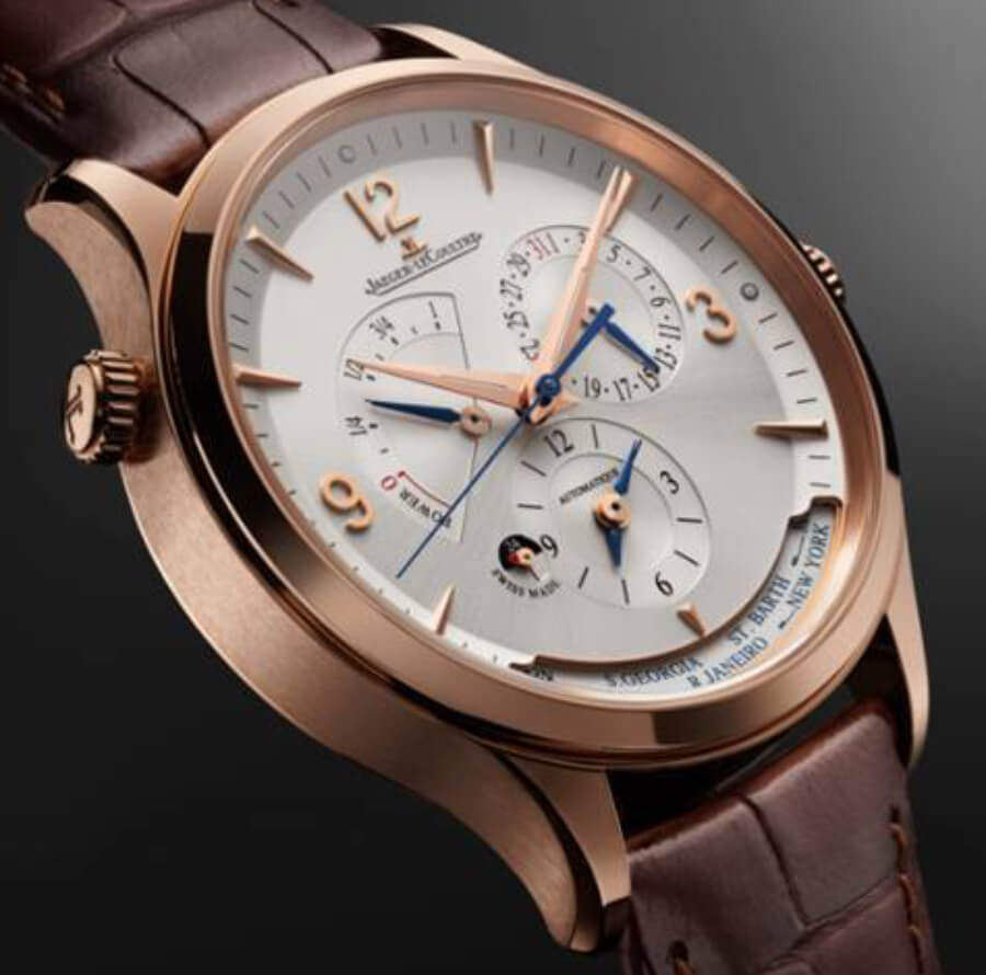 Jaeger-LeCoultre Master Control Geographic Ref. Q4122520 Le Grand Rose gold