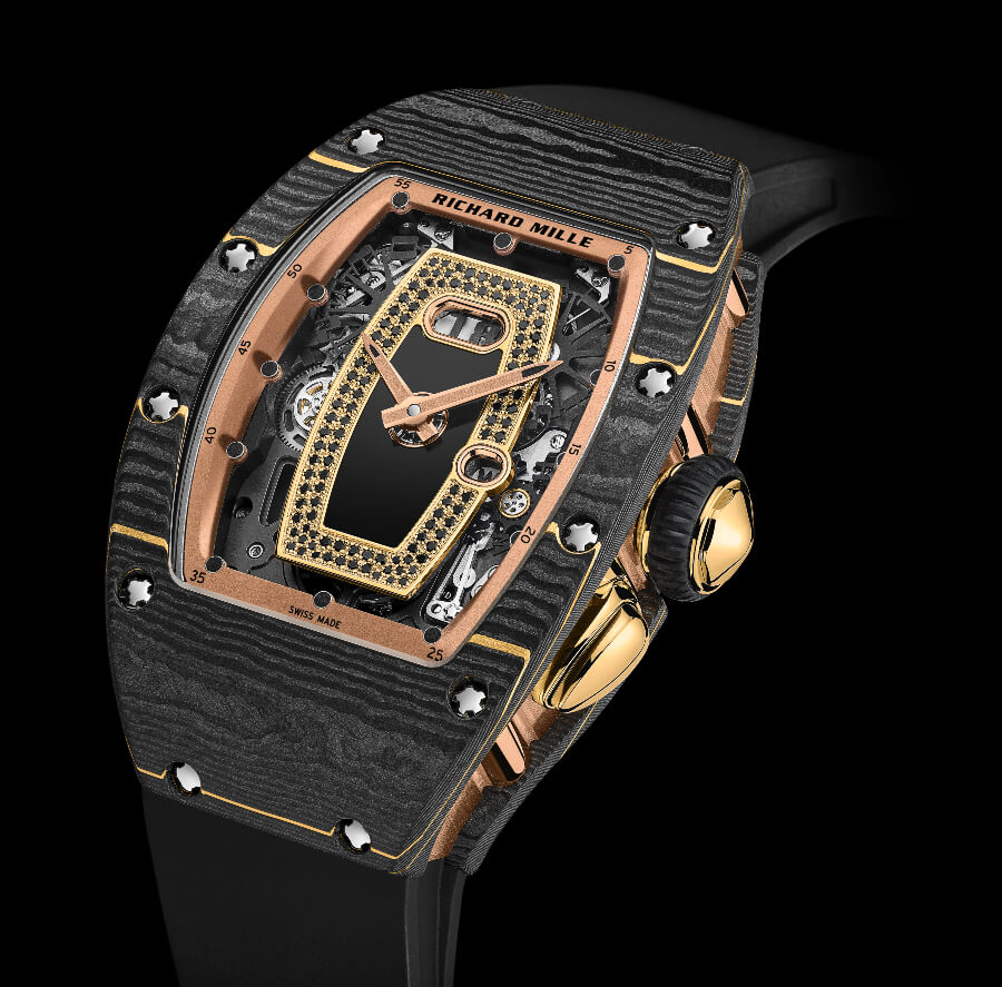 Richard Mille RM 037 Gold Carbon TPT