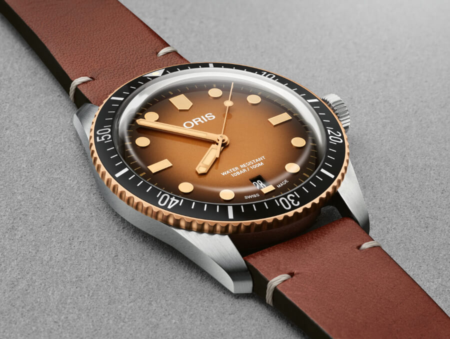 Oris Divers Sixty-Five Brown Gradient Dial Watch Review