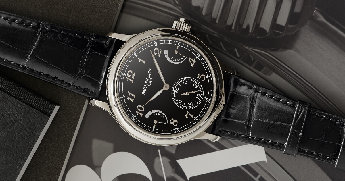 Patek Philippe Grande Sonnerie 6301P (Price, Pictures and Specifications)