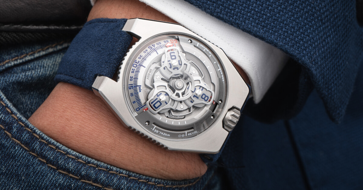 Urwerk UR-100V Iron (Price, Pictures and Specifications)