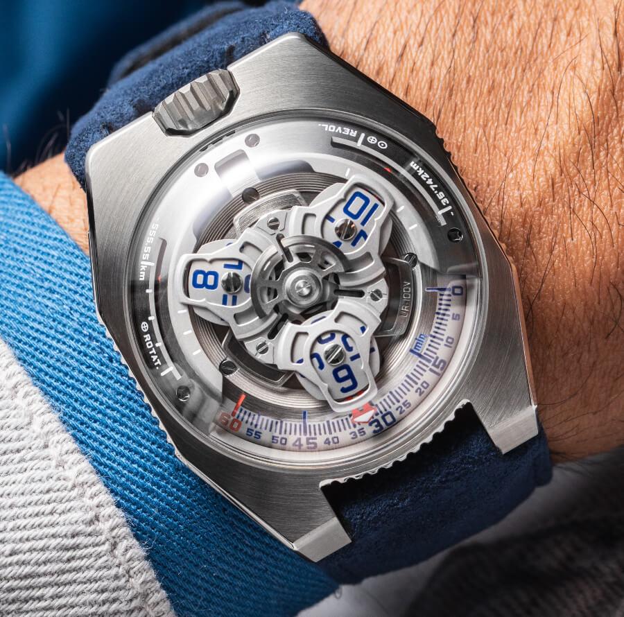 Urwerk UR-100V Iron Watch Review