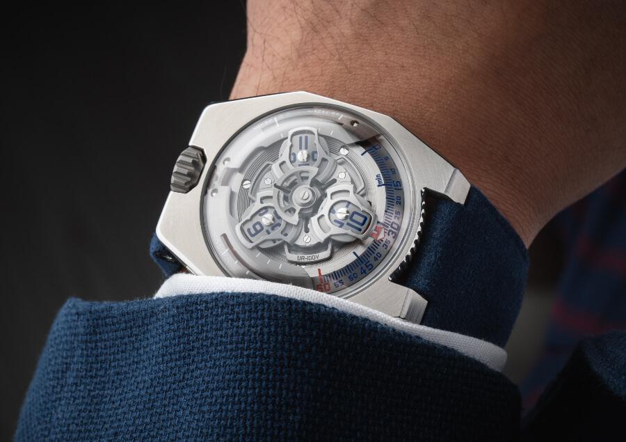 Urwerk UR-100V Iron Men Watches