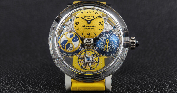 Bovet Récital 26 Brainstorm Chapter Two Sunshine Collection (Price, Pictures and Specifications)