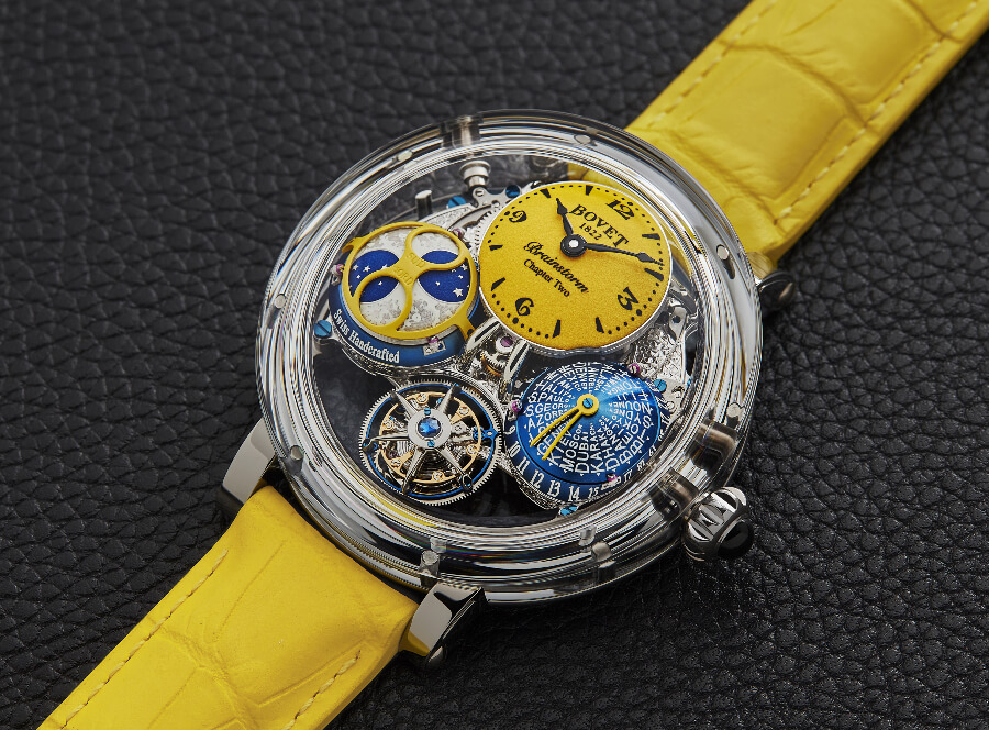 Bovet Récital 26 Brainstorm Chapter Two Sunshine Collection Watch review