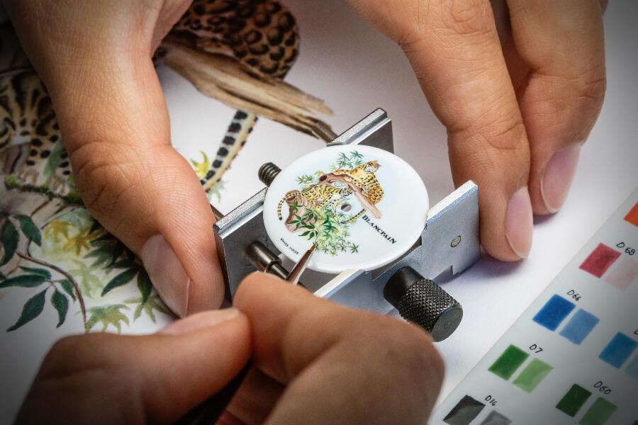 Blancpain Métiers d'Art Porcelaine Watch Dial