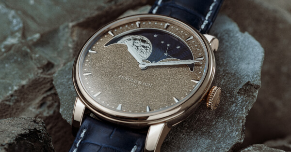 Arnold & Son Perpetual Moon Obsidian (Price, Pictures and Specifications)
