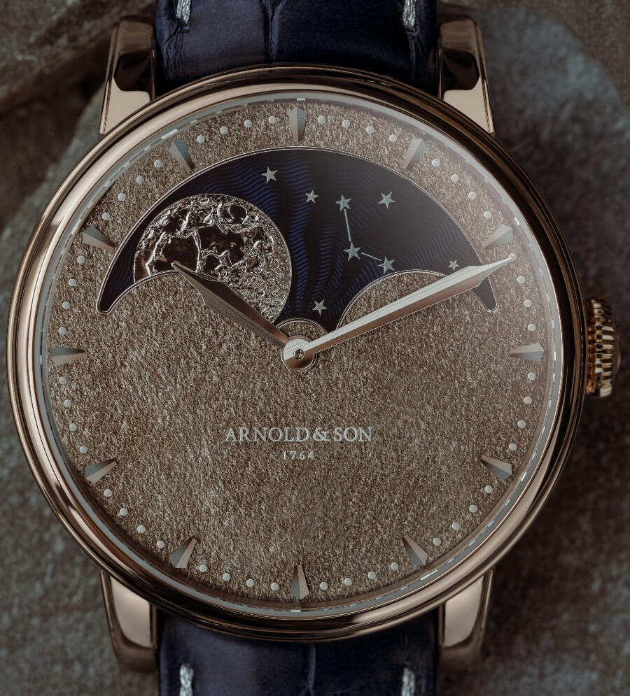 The New Arnold & Son Perpetual Moon Obsidian