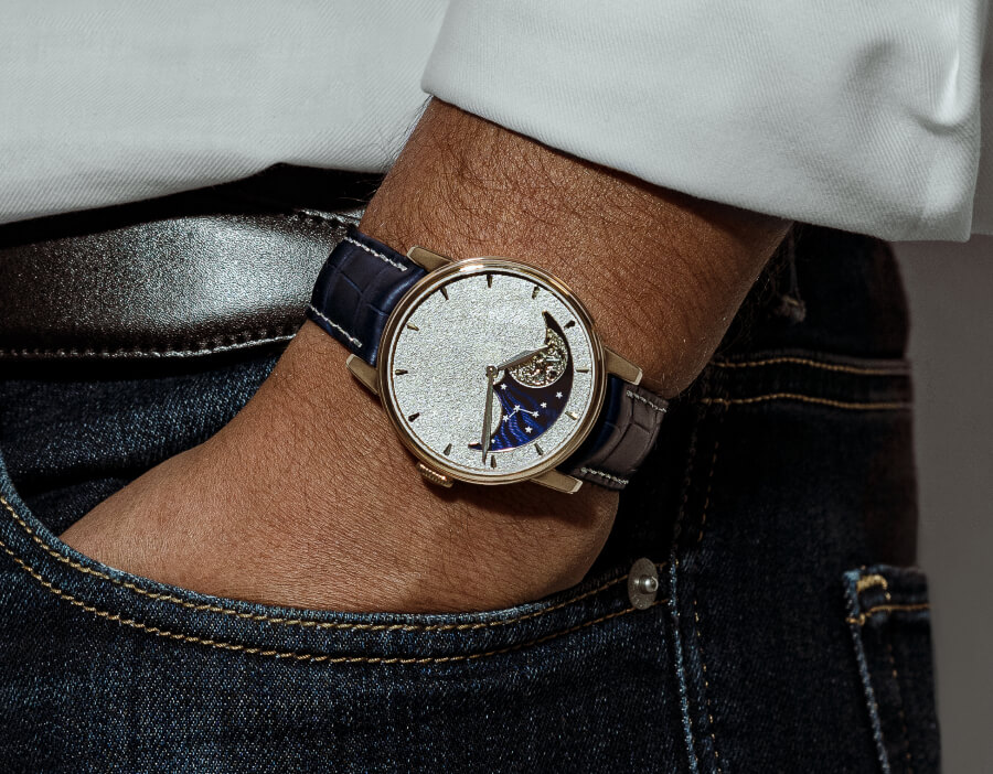 Arnold & Son Perpetual Moon Obsidian Watch Review