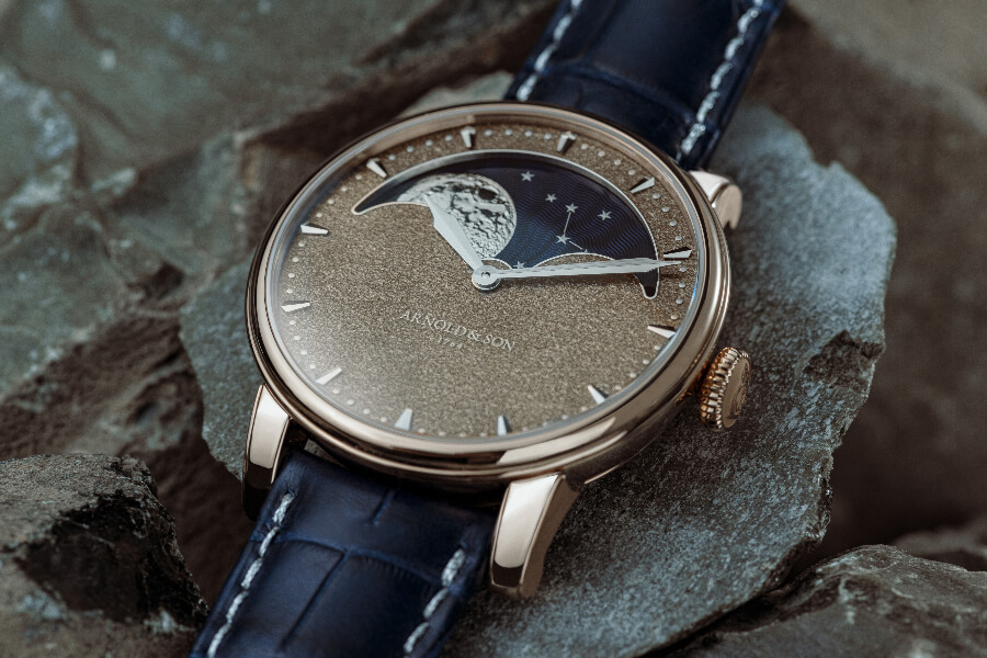 Arnold & Son Perpetual Moon Obsidian ref. 1GLAR.Z01A.C154A Watch Review