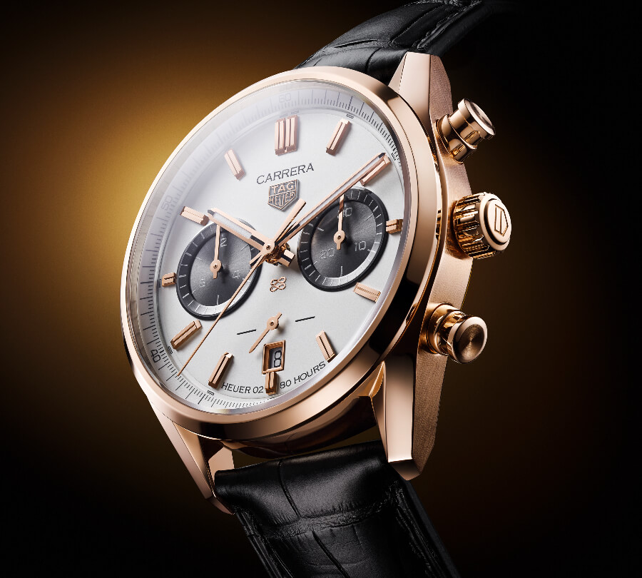 TAG Heuer Carrera Chronograph Jack Heuer Birthday Gold Limited Edition Watch Review