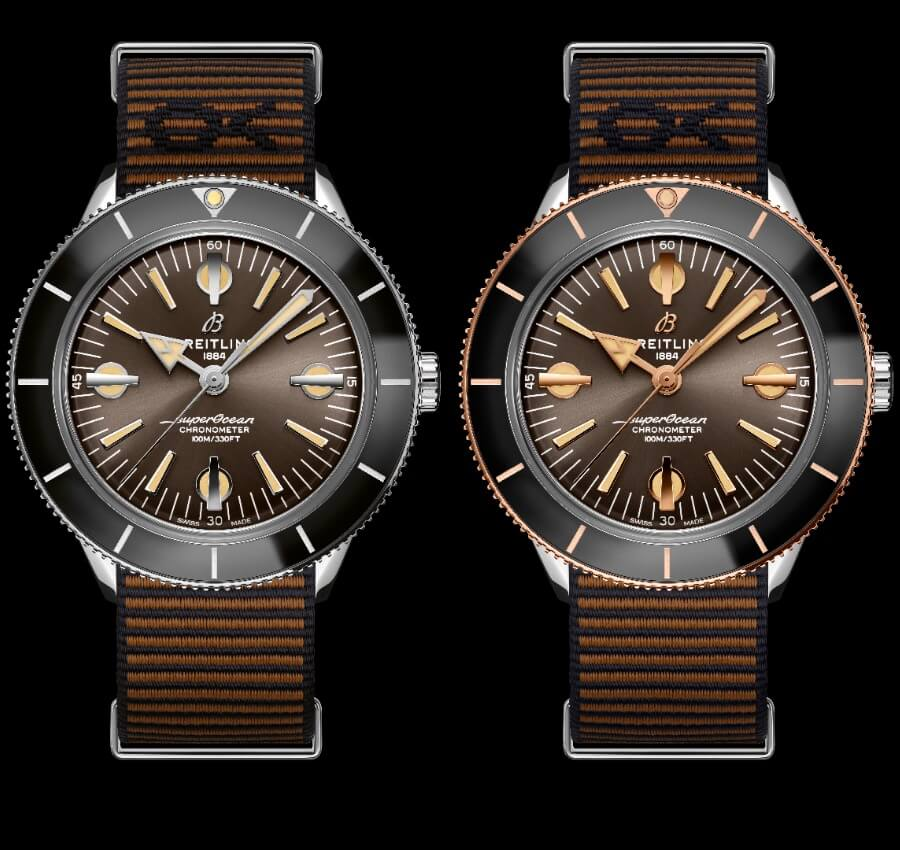Breitling Superocean Heritage '57 Outerknown and Superocean Heritage '57 Outerknown Limited Edition