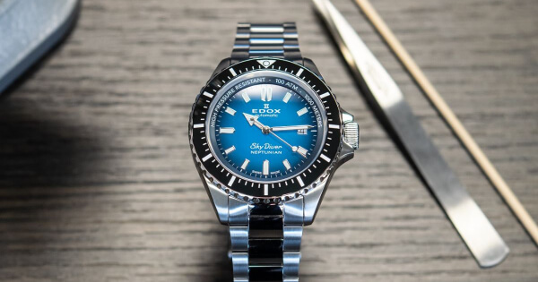 The New Edox Skydiver Neptunian (Price, Pictures and Specifications)