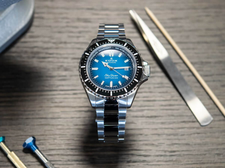 Edox Skydiver Neptunian Watch Review
