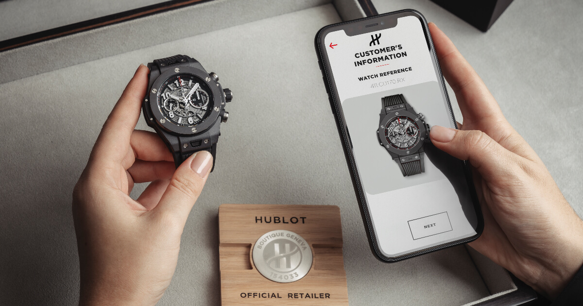 Hublot E-Warranty, The Digitalisation Of The Warranty Card Or How Each Watch Becomes Its Own Certificate