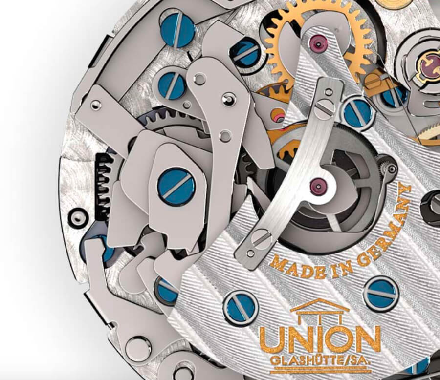 Union Glashütte Manual movement UNG-59.S1