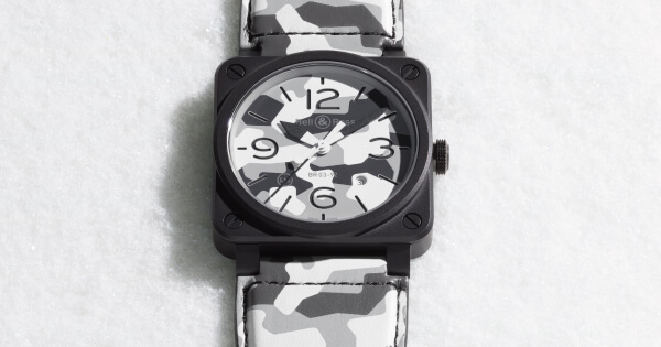 Bell & Ross BR03-92 White Camo (Price, Pictures and Specifications)
