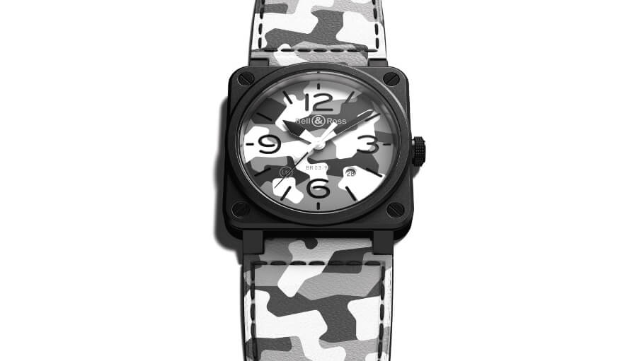 The New Bell & Ross BR03-92 White Camo