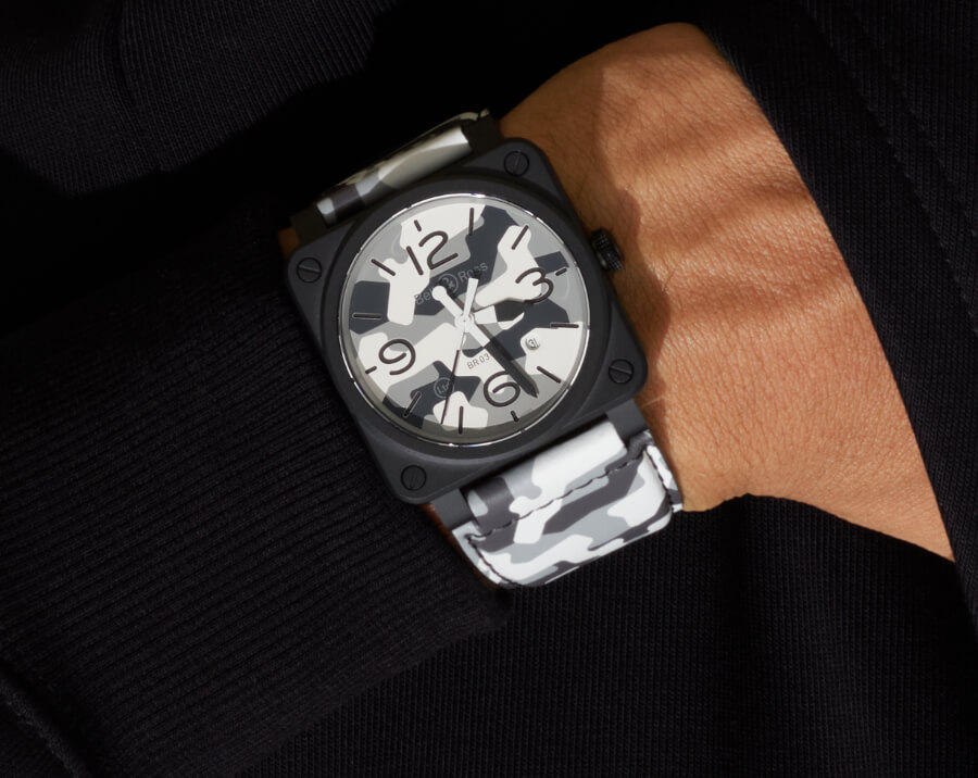Bell & Ross BR03-92 White Camo Watch Review