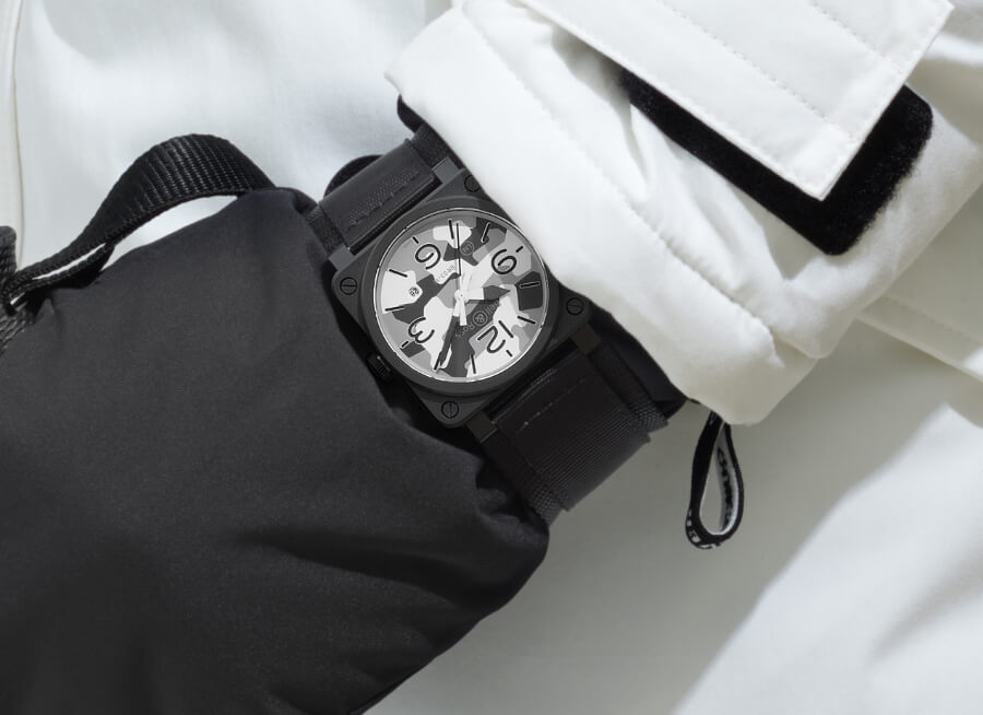 Bell & Ross BR03-92 White Camo Review