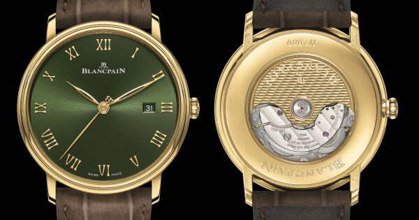 The New Blancpain Villeret Extraplate Boutique Edition Ref. 6651-1453-55A (Price, Pictures and Specifications)