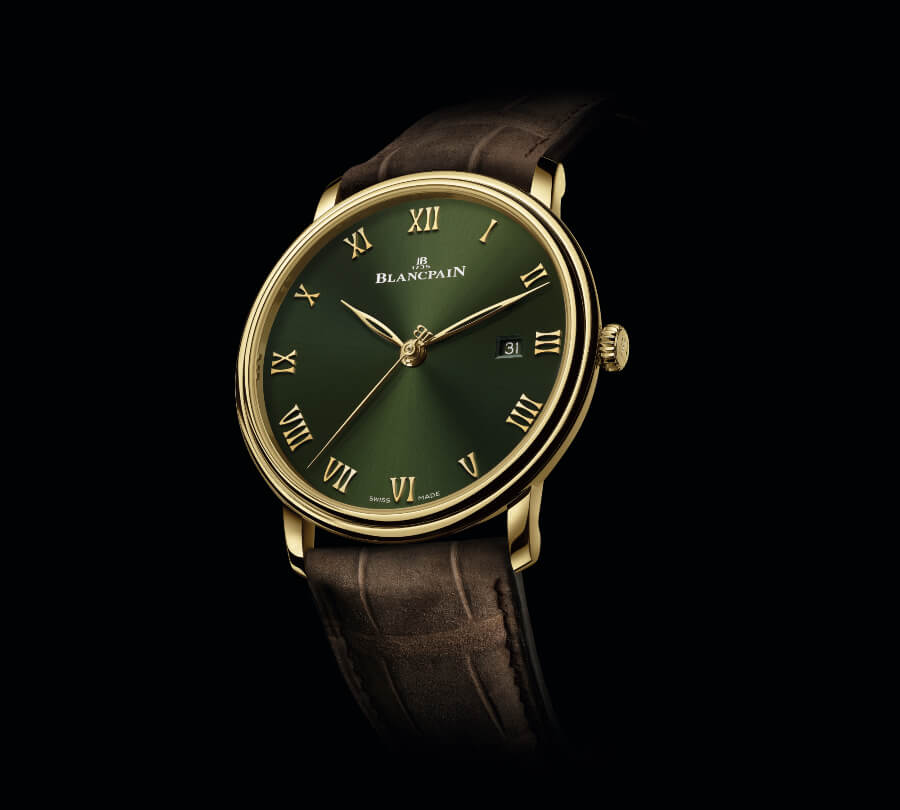 The New Blancpain Villeret Extraplate Boutique Edition Ref. 6651-1453-55A