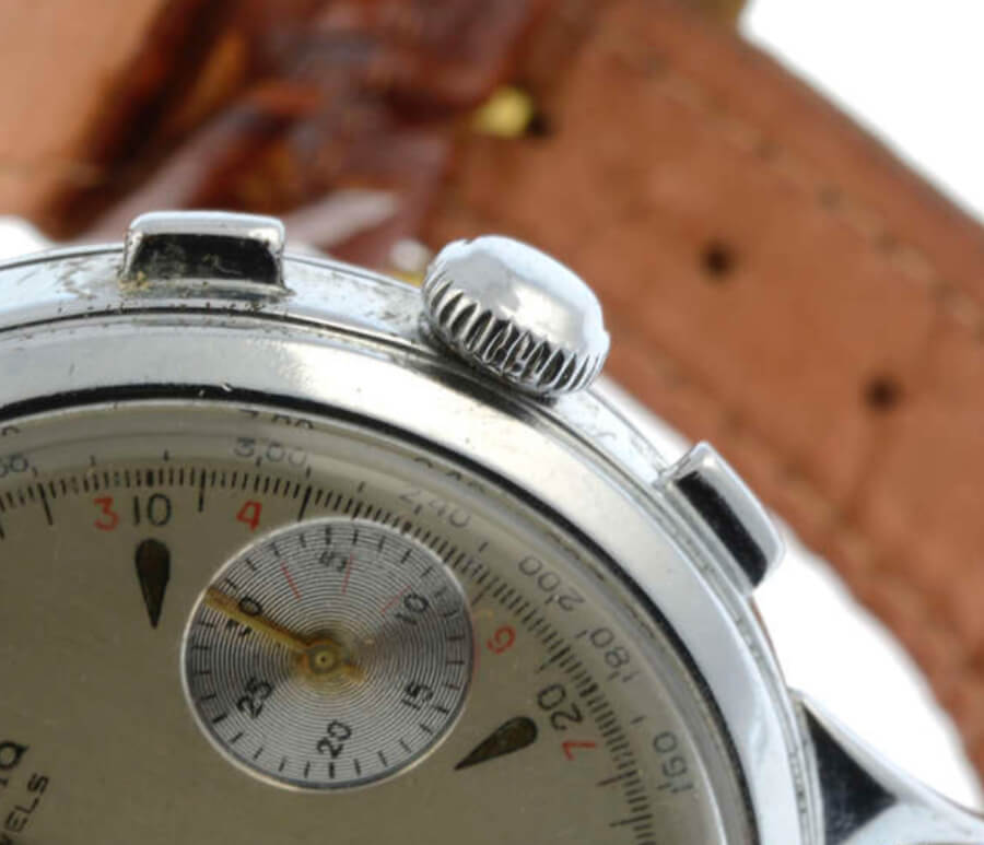 "Protona - a stainless steel Microphone Spy ""Watch"" Recorder formed as a chronograph wrist watch"