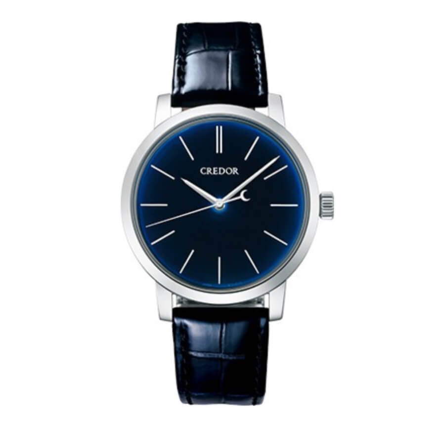 Credor Blue Dial Watch
