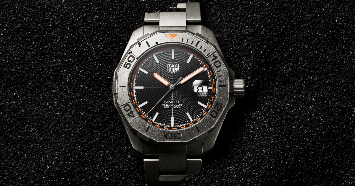 TAG Heuer Aquaracer Bamford Limited Edition (Price, Pictures and Specifications)