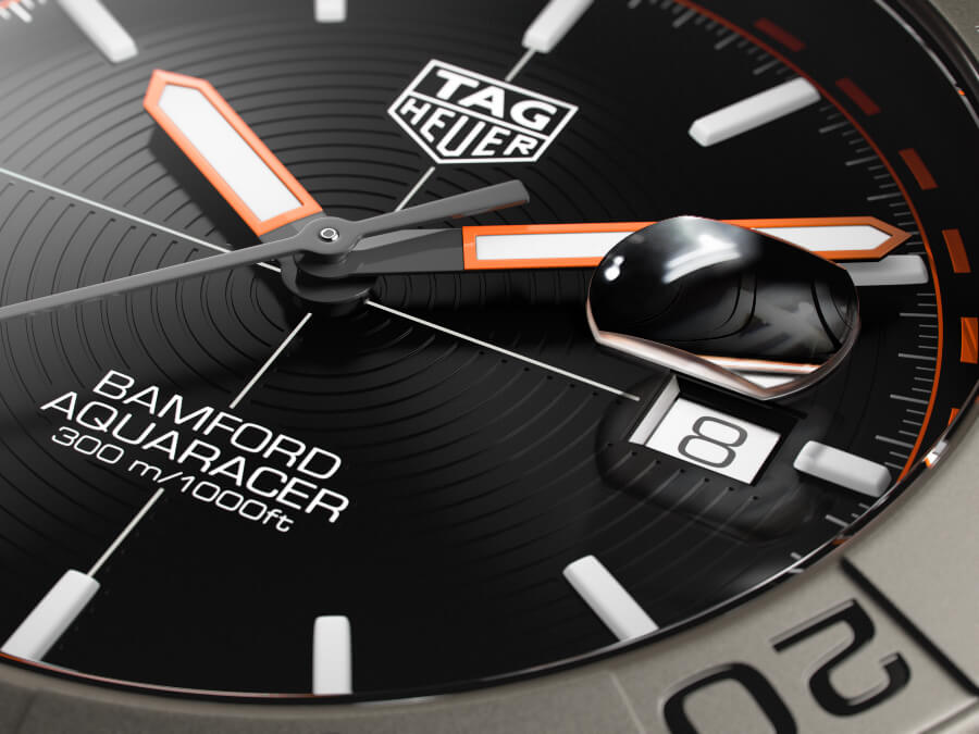 TAG Heuer Aquaracer Bamford Limited Edition Dial